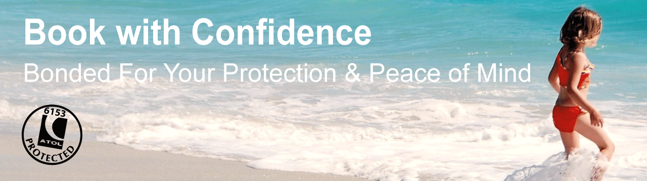 Book with confidence banner